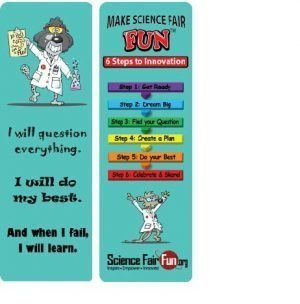 Make Science Fair Fun Bookmark